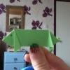 Cómo hacer un cerdo de Origami