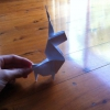 Cómo hacer un unicornio de origami