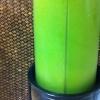 Cómo hacer un espinacas o col rizada verde Proteína Smoothie