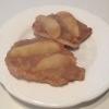 Cómo hacer chuletas de cerdo de Apple esmaltadas