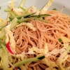 ¿Cómo hacer ensalada asiática fría fideos 凉面