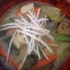 Cómo hacer asiática sopa de fideos con pollo y verduras