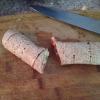 Cómo hacer tocino de pollo Wraps