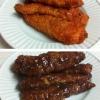 Cómo hacer al horno barbacoa y Buffalo Tiras de Pollo