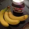 Cómo hacer plátano Nutella Ice Cream