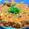 Cómo hacer Beef Kofta una salsa de Tomate La