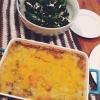 Cómo hacer Bison Pie & Kale ensalada