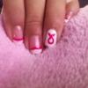 Cómo hacer Nails conciencia del cáncer de mama