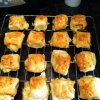 Cómo hacer queso y cebolla Rolls