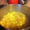Cómo hacer pollo y albóndigas