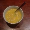 Cómo hacer sopa de pollo y maíz dulce