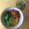 Cómo hacer pollo y de la seta de fideos (estilo indonesio)