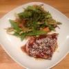 Cómo hacer de chile Atún Fresco Con Stirfry #Healthyeating