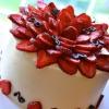 Cómo hacer Pastel de mantequilla con las fresas