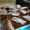 Cómo hacer melcocha del chocolate Slice