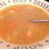 Cómo hacer sopa de verduras Chunky