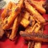 Cómo hacer patatas fritas crocantes al horno la patata dulce