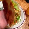 Cómo hacer crujientes frescas Tacos El uso de Tortillas de Harina
