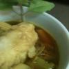 Cómo hacer sopa de curry vegetariano con dumplings