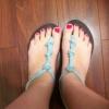 Cómo hacer sandalias lindas Fuera de viejos Flip Flops Broken