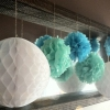 Cómo hacer Tissue Partido decorativo Pom Poms