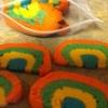 Cómo hacer delicioso del arco iris cookies