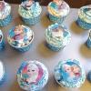 Cómo hacer Disney congelado Inspirado Cupcakes de vainilla