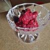 Cómo hacer fácil sorbete de Berry