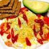 Cómo hacer fácil Desayunos: Cheesy Sunny Side Up