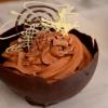 Cómo hacer fácil Bowls Chocolate Con Mousse de Chocolate