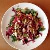 Cómo hacer Falafel Kale Quinoa Salad