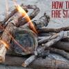 Cómo hacer fuego Entrantes: El Cartón de huevos del arrancador de fuego