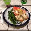 Cómo hacer ajo cangrejo