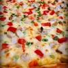 Cómo hacer ajo Ranch Pizza de pollo