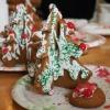 Cómo hacer pan de jengibre árboles de Navidad