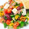 Cómo hacer ensalada griega Ilanit Estilo
