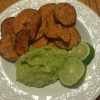 Cómo hacer Guacamole and Sweet Potato Chips