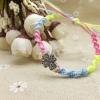 Cómo hacer pulseras artesanales Amistad Proyecto Joyería