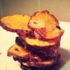 Cómo hacer saludable y delicioso dulce chips de ajo Patata