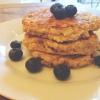Cómo hacer Saludables yogur griego almendra Pancakes