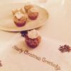 """Cómo hacer Muffins Healty de Navidad con """"Snow-Frosting"""""""