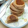 Cómo hacer de alto valor proteico de fresa yogur griego Pancakes
