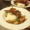 Cómo hacer casera Gong Bao salsa con pollo