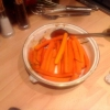 Cómo hacer miel y romero asados Zanahorias
