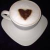 Cómo hacer chocolate caliente con forma de corazón