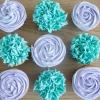 Cómo hacer que la formación de hielo Rosas / Hortensias en miel Cupcakes