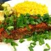 Cómo hacer que la India con especias Filete de salmón