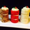 Cómo hacer pasteles individuales para su celebración de días festivos