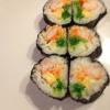 Cómo hacer japonesa Maki Sushi Con Tamago Yaki (Huevo)
