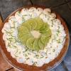 Cómo hacer Key Lime Pie Usando Maria Galleta Corteza